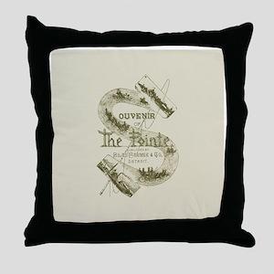 Souvenir of The Pointe Throw Pillow