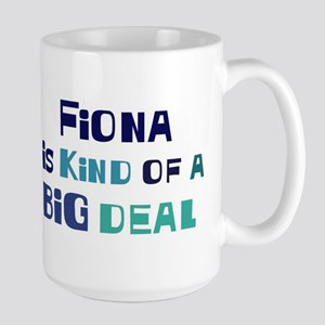 Fiona is a big deal Mugs