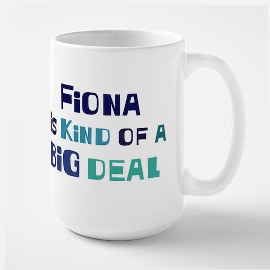 Fiona is a big deal Mugs