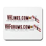 VHLinks.com/VHForums.com Logos Mousepad