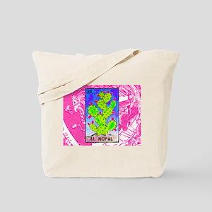 El Nopal & Mexican Flag Tote Bag