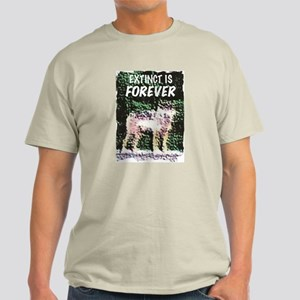 Extinct is Forever Light T-Shirt