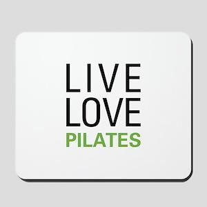 Live Love Pilates Mousepad