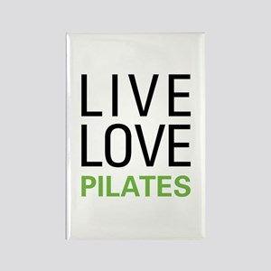 Live Love Pilates Rectangle Magnet