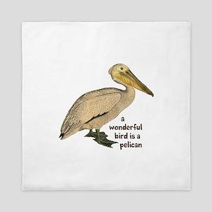 Pelican Fun Queen Duvet
