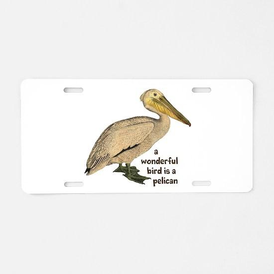 Pelican Fun Aluminum License Plate