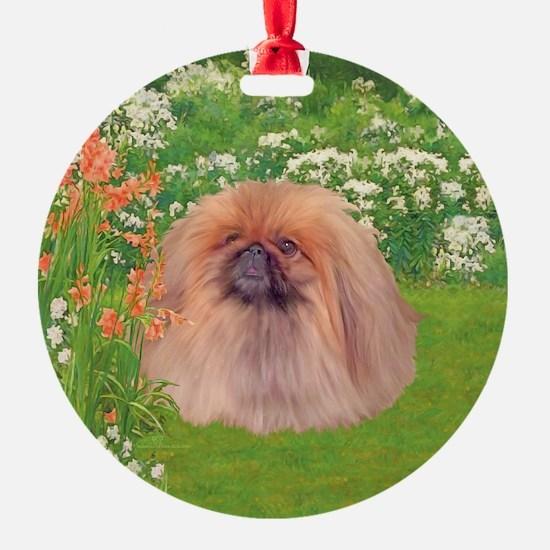 Pekingese Dog Garden Ornament
