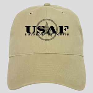 I Support My Cousin - Air Force Cap