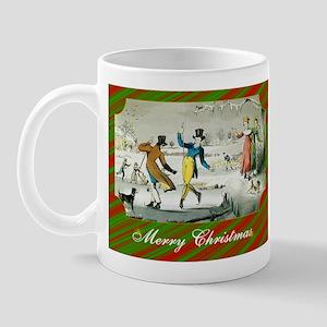Jane Austen Christmas Mug