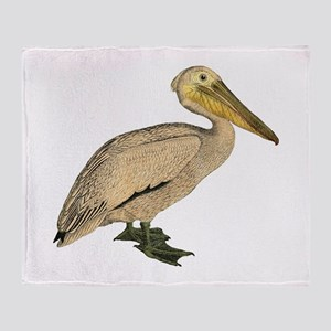 Pelican Throw Blanket