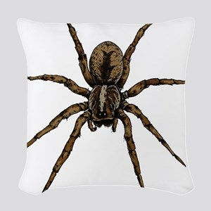 Spider Woven Throw Pillow
