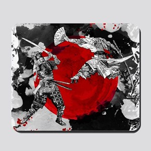 Samurai Fighting Mousepad