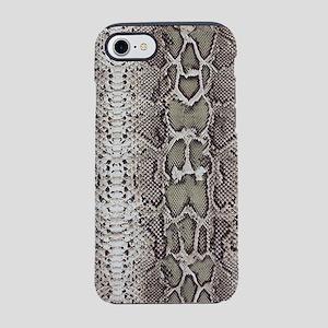 Cobra Snake Skin Pattern iPhone 8/7 Tough Case
