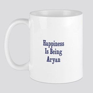 Happiness is being Aryan Mug