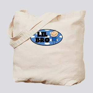 LIL BRO/Little Brother w/dots Tote Bag
