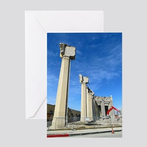6th Street Viaduct, Los Angeles Greeting Cards