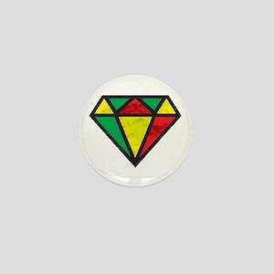 Reggae Diamond Mini Button