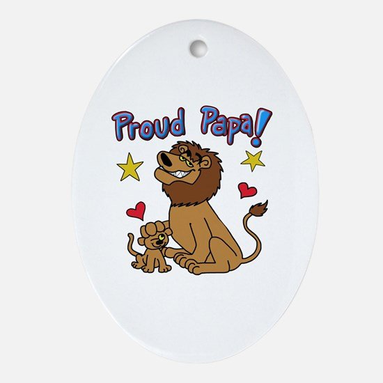 Funny Three daughters Oval Ornament