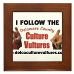 DelcoCultureVultures Framed Tile