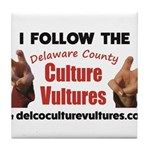 DelcoCultureVultures Tile Coaster