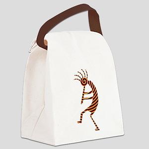 Kokopelli Man Jams Canvas Lunch Bag