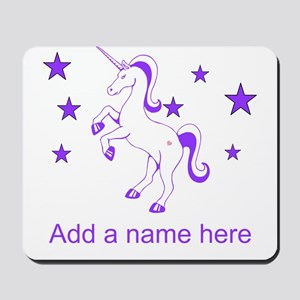 Personalizable Unicorn Mousepad