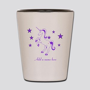 Personalizable Unicorn Shot Glass