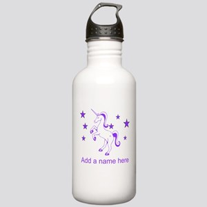 Personalizable Unicorn Water Bottle