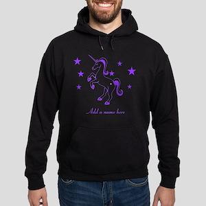 Personalizable Unicorn Hoodie