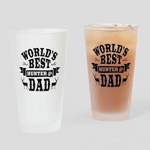 Hunter Dad Drinking Glass