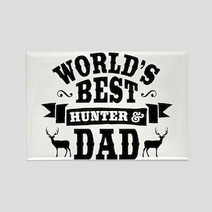 Hunter Dad Rectangle Magnet