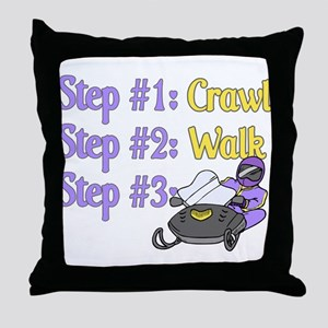Step 1... Step 2... Throw Pillow