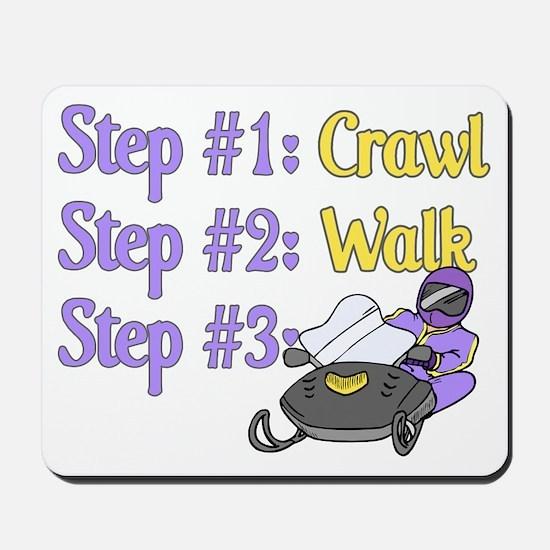 Step 1... Step 2... Mousepad