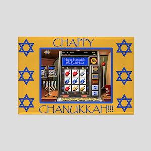 Helaine's Hanukkah Rectangle Magnet