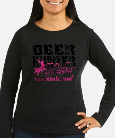 Run, Bambi, Run! Long Sleeve T-Shirt