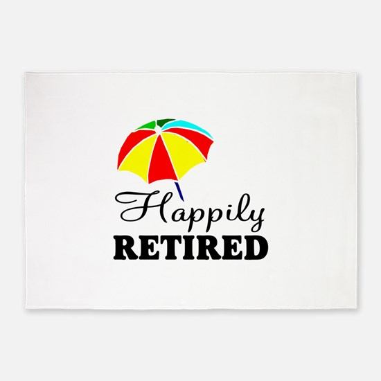 Retiring teacher 5'x7'Area Rug