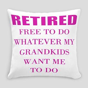 retired teacher Everyday Pillow