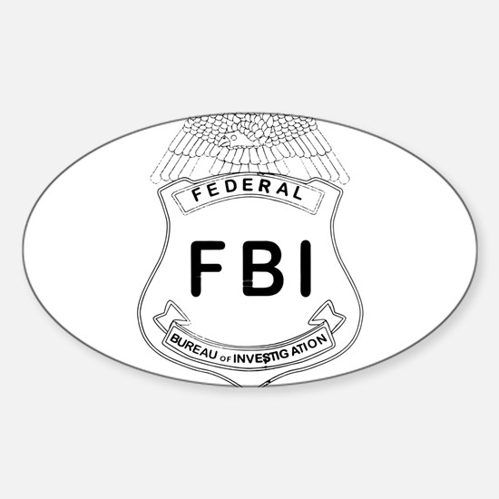 Feds Badge Decal