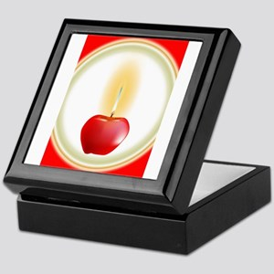 Apple Candle Keepsake Box