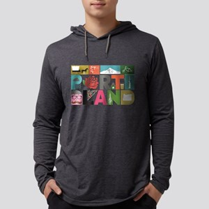 Unique Portland - Block by B Long Sleeve T-Shirt