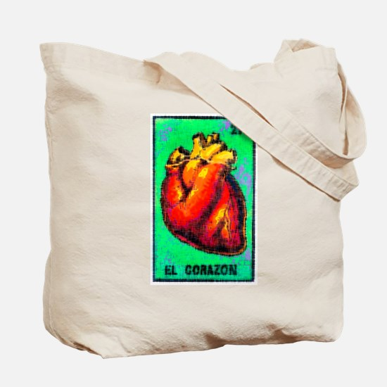 El Corazon & Arrows Tote Bag