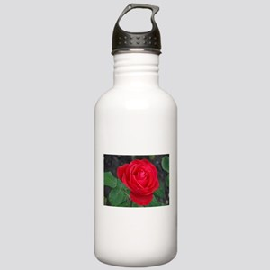 Single red rose Stainless Water Bottle 1.0L