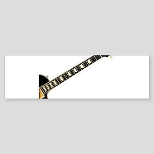 Blues Guitar Bumper Sticker