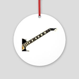 Blues Guitar Round Ornament