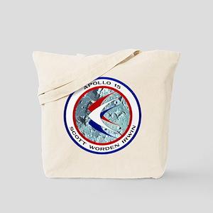 NASA Apollo 15 Insignia Tote Bag
