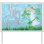 Fairy Music Yard Sign