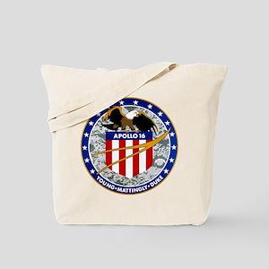 NASA Apollo 16 Insignia Tote Bag
