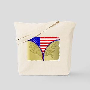 USA Zipper Tote Bag