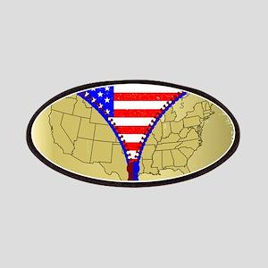 USA Zipper Patch