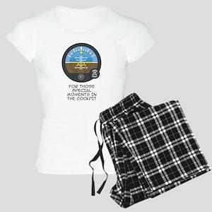 AI Black Text Women's Light Pajamas